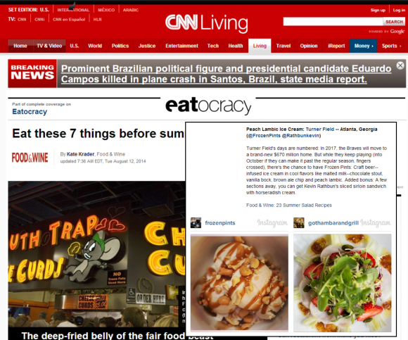 CNN Eatocracy - Eat these 7 things before summer ends
