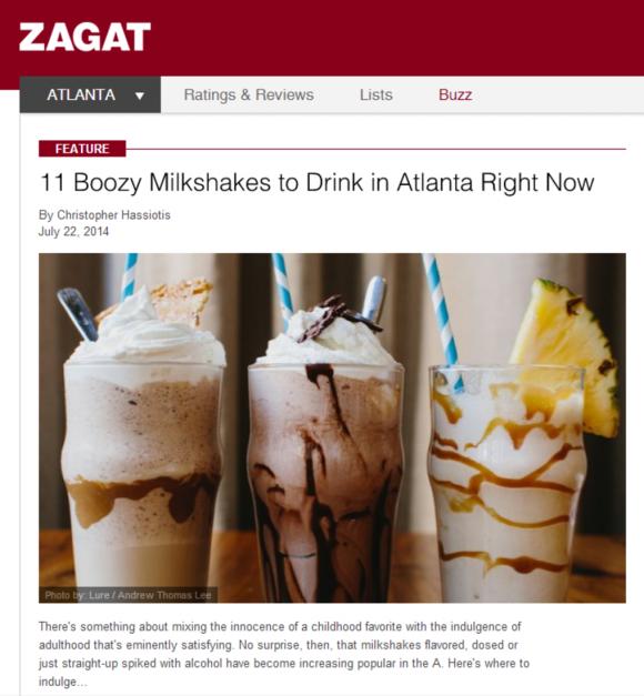 Zagat July 2014